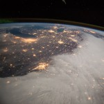 A view of America from the International Space Station