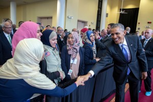 Mr. Obama Goes To A Mosque