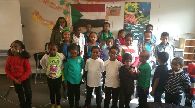 Students at the Sudanese Association of Northern California's school Credit: Hana Baba