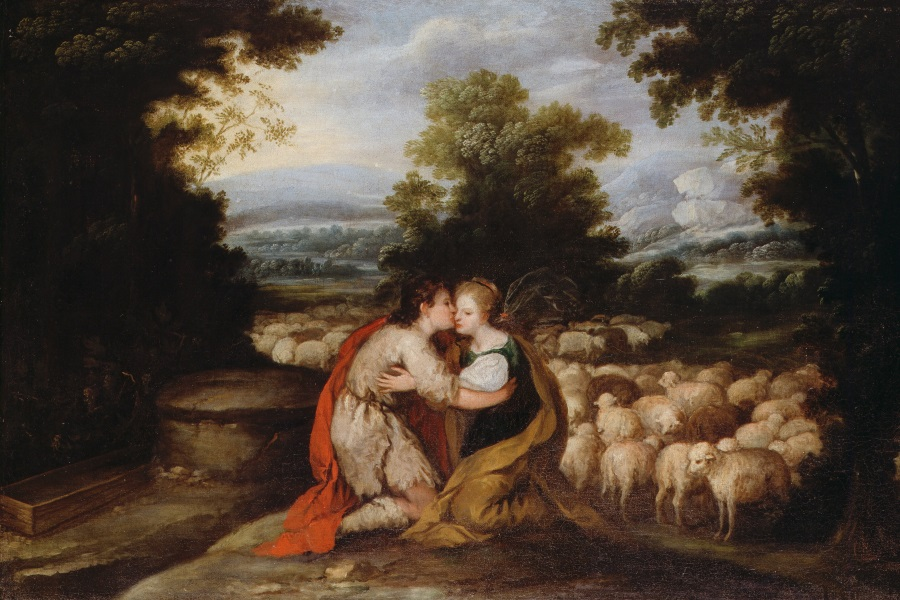 Jacob and Rachel at the Well