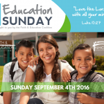 National Education Sunday To Be Celebrated September 4, 2016