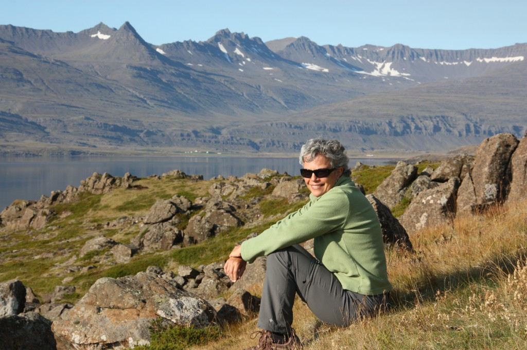 Lori Erickson on the Ring Road in Iceland (photo by Bob Sessions)