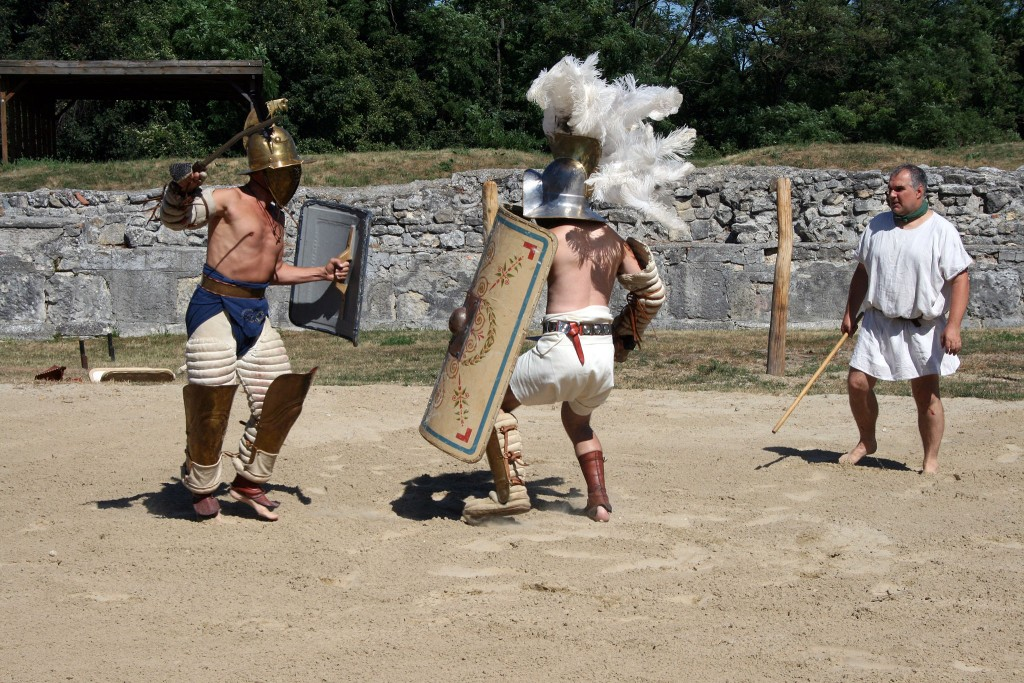 Gladiatoren in Carnuntum 2013