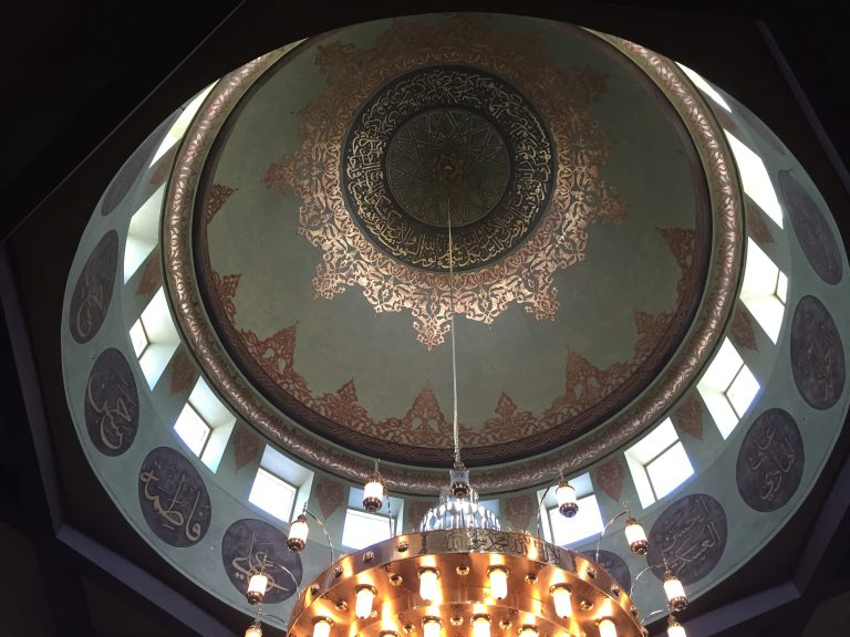 The Islamic Center of America includes this beautiful dome. (Bob Sessions photo)