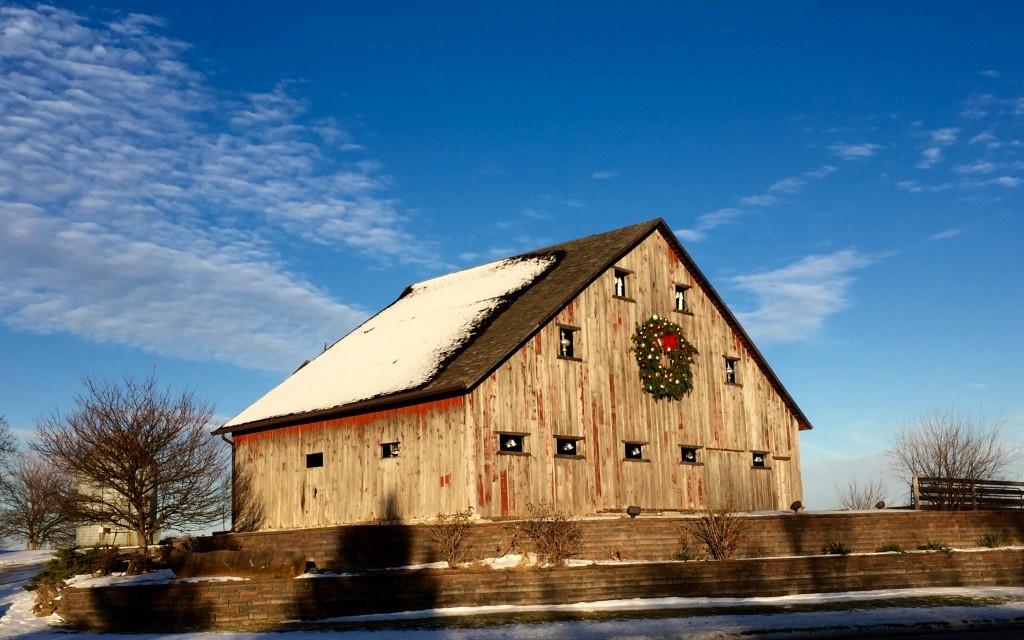 Harvest Preserve Barn, near Iowa City (Lori Erickson photo)