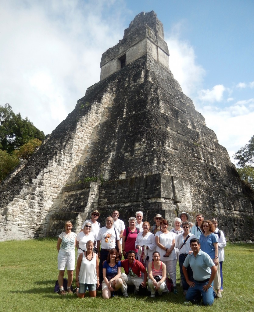 Bob and I spent a week on a Sacred Earth Journeys tour of Mayan sites in Mexico and Guatemala. (photo courtesy of Sacred Earth Journeys)