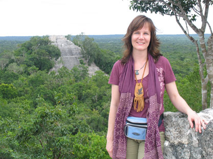 Helen Tomei is the founder and owner of Sacred Earth Journeys. (photo courtesy of Sacred Earth Journeys)