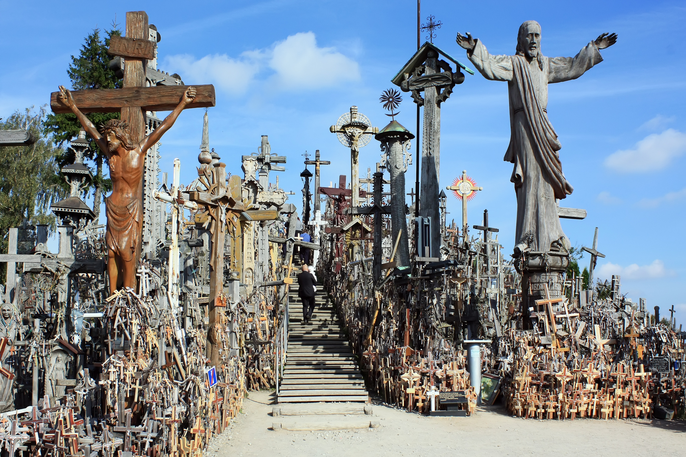 Hill of Crosses Siauliai Hill of Crosses Lithuania