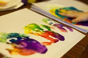 finger paint