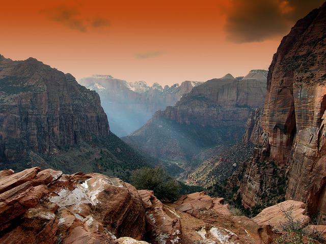Zion National Park, via Pixabay