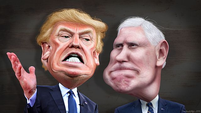 Donald_Trump_and_Mike_Pence_-_Caricature