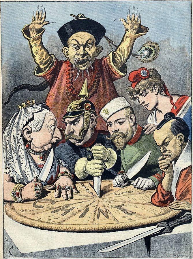 imperialism cartoon - photo #10