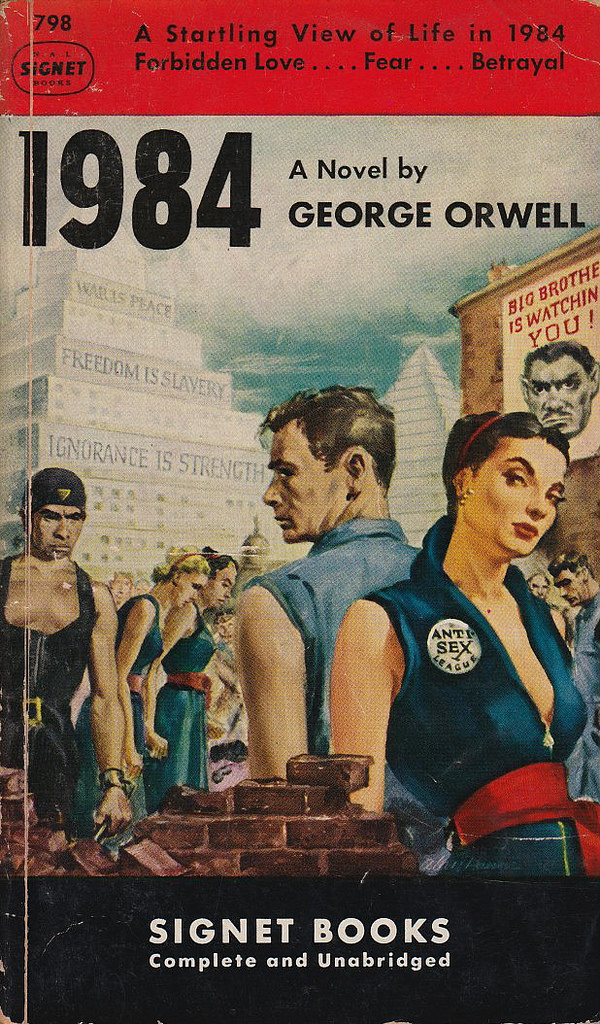themes of perfect vs communistic government in george orwells novel 1984 In composing this novel, orwell gave the world a glimpse of what the ed 1984 themes gradesaver, 19 critical analysis of 1984 by george orwell.