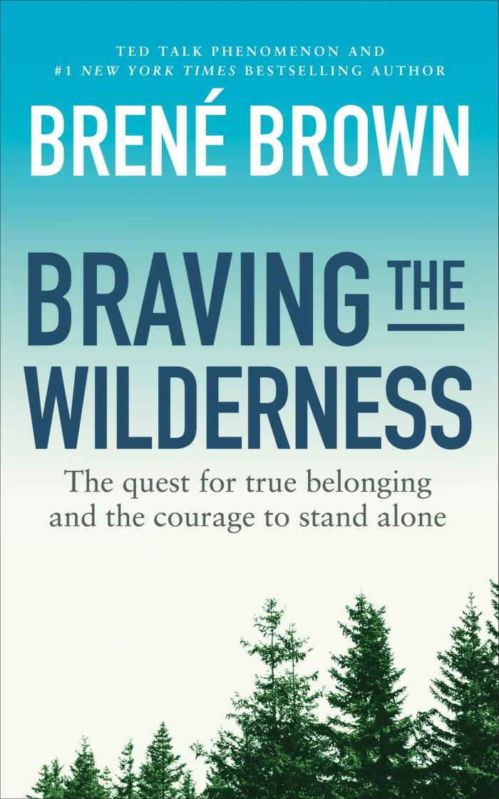 Cover Brene Brown wilderness