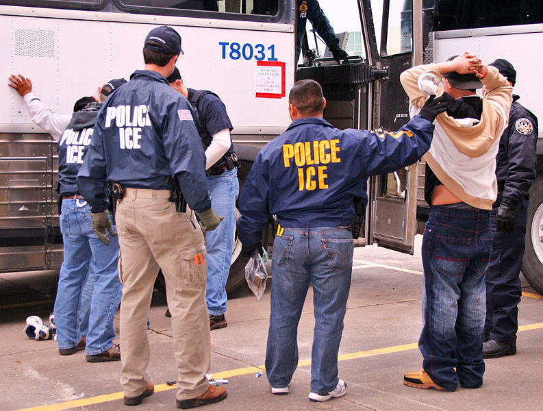 "https://commons.wikimedia.org/wiki/File%3A100203houston_lg.jpg; By U.S. Immigration and Customs Enforcement (ICE), www.ice.gov. Please credit by saying ""Photo Courtesy of ICE"". [Public domain], via Wikimedia Commons"