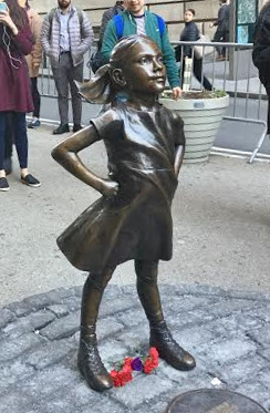 """About the """"fearless girl"""""""