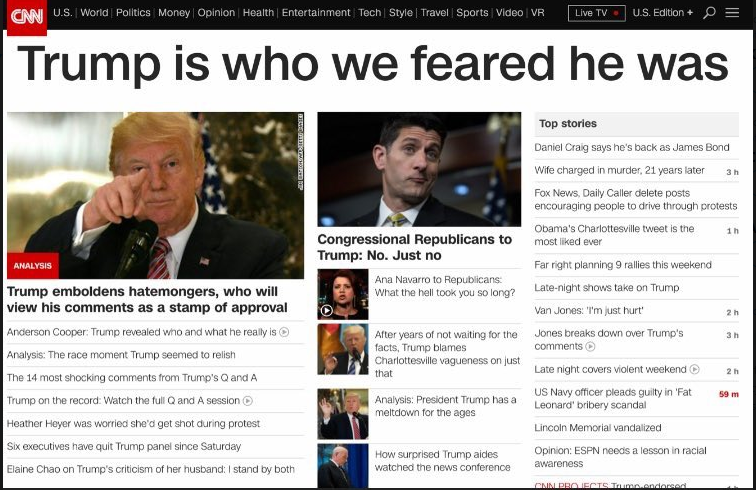 Trump CNN snip
