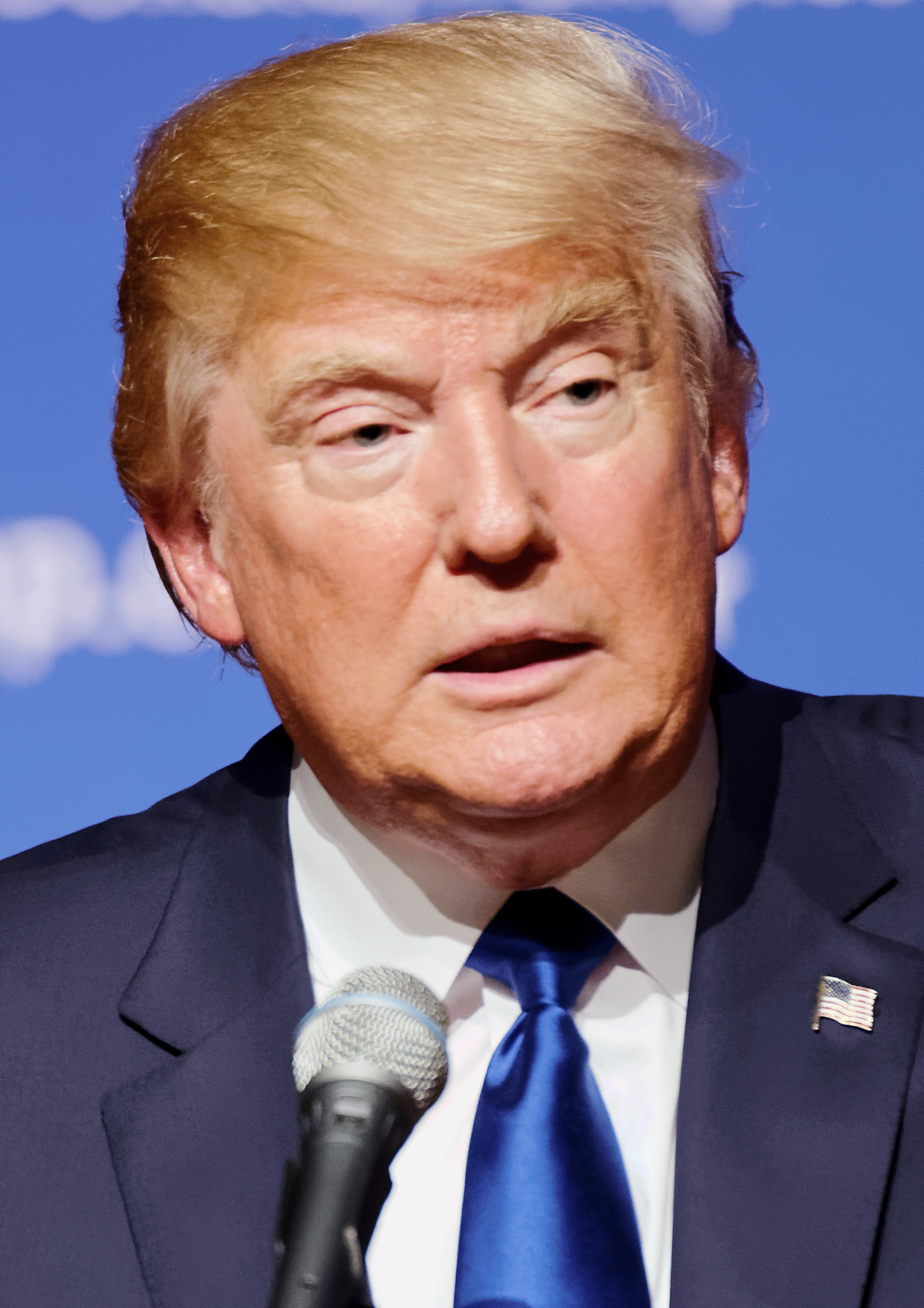 (Donald Trump in August, 2015. Source: Wikimedia, Creative Commons License) - Donald_Trump_August_2015