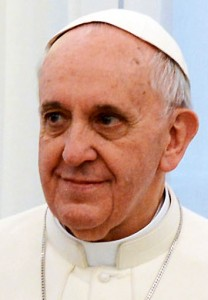 (Pope Francis in March 2013. Source: Wikimedia, Creative Commons License).