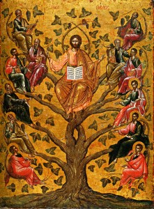 (Icon of Christ as the True Vine, 16th century. Source: Wikimedia, Creative Commons License).