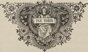 """Image from page 482 of """"Readings and reflections for the Holy Hour; the manifestations of the Divine Presence"""" (1917) by Frederick Albert Reuter. Source: Flickr, no known copyrights."""