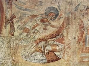 Joseph's Dream (10th century) by the Master of Castelseprio. Public Domain.