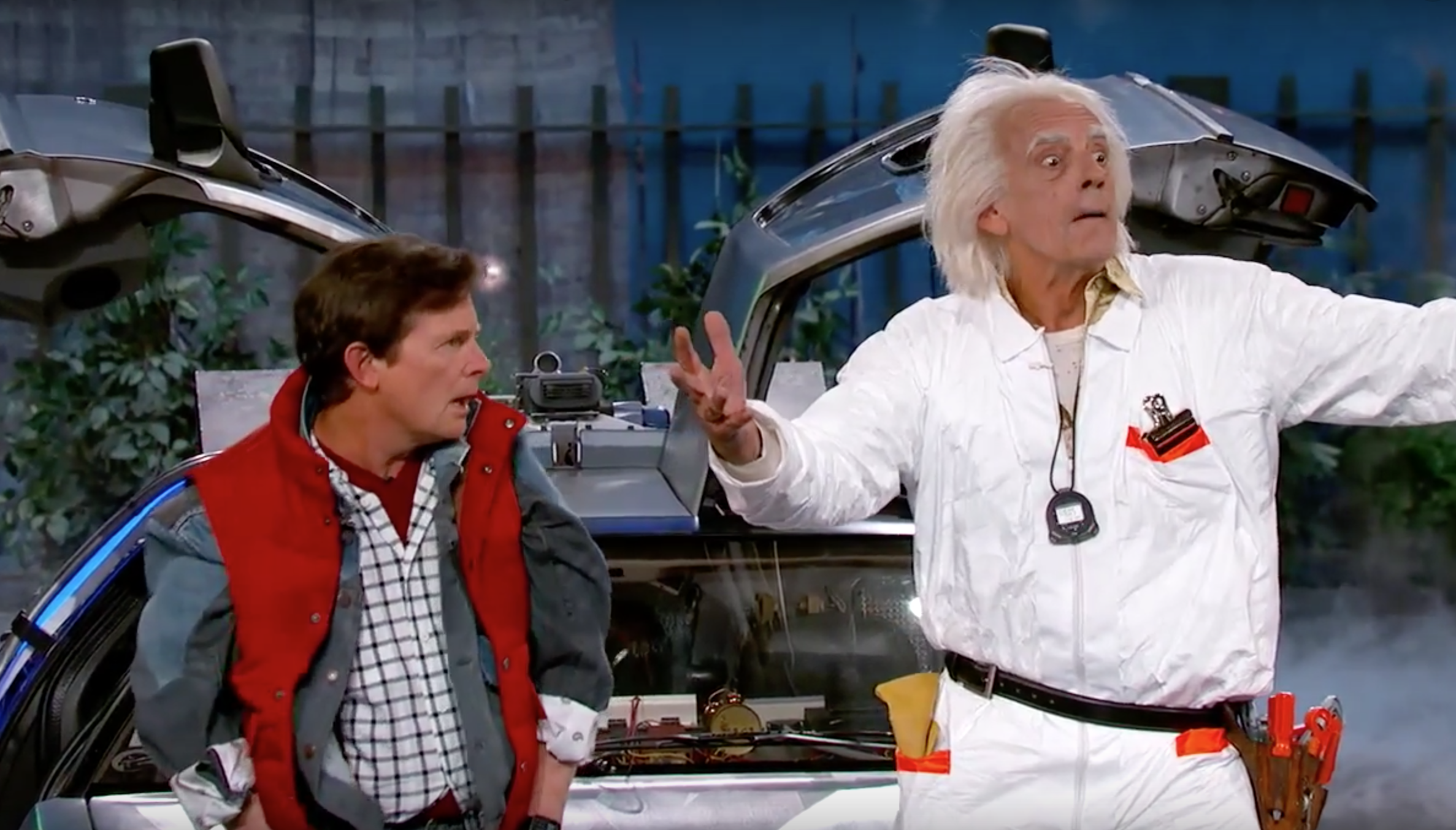 how do marty mcfly and doc brown meet