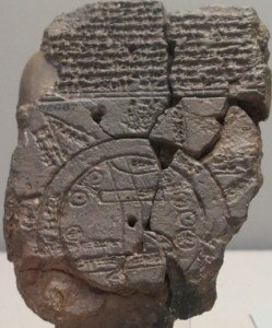Map of the World ca 500-700 BC