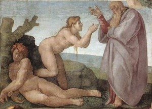 Michelangelo Creation of Eve