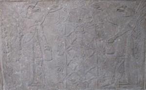 Stone relief Nimrud ca 870BCE 2