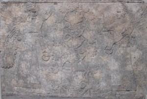 Stone relief Nimrud ca 870BCE 3