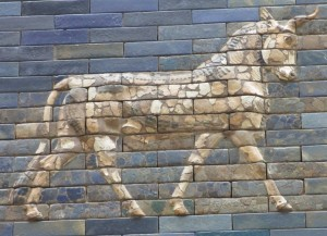Auroch on the Ishtar Gate