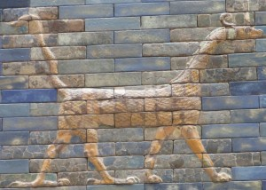 Dragon on the Ishtar Gate