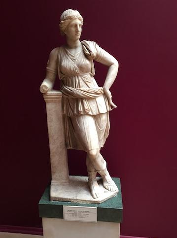 """Artemis, whom the Ephesians called """"Great,"""" striking a pose."""