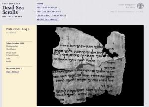 Genesis 1 Fragment
