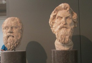 Socrates and Antisthenes