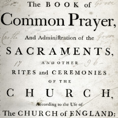 Title page from 'The Book of Common Prayer'