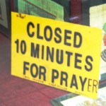 Prayer and the workday