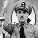 Charlie Chaplin as 'The Great Dictator'