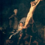 Rembrandt, 'The Raising of the Cross'
