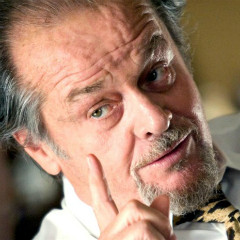 Jack Nicholson as Frank Costello