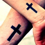 Cross tattoos