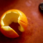Orange peel, more than it seems