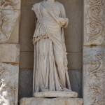 Sophia from Celsus Library in Ephesus