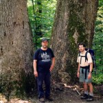 Ron and John, Joyce Kilmer Memorial Forest, 1998