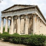 the Temple of Hephaestus, the Smith-God