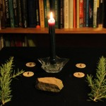 Ovate altar