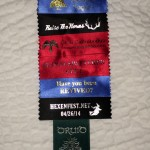 badge and ribbons 2014