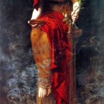 Priestess of Delphi by John Collier (1891)