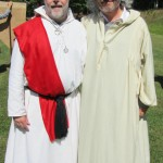 me with OBOD Chosen Chief Philip Carr-Gomm at the 2012 East Coast Gathering